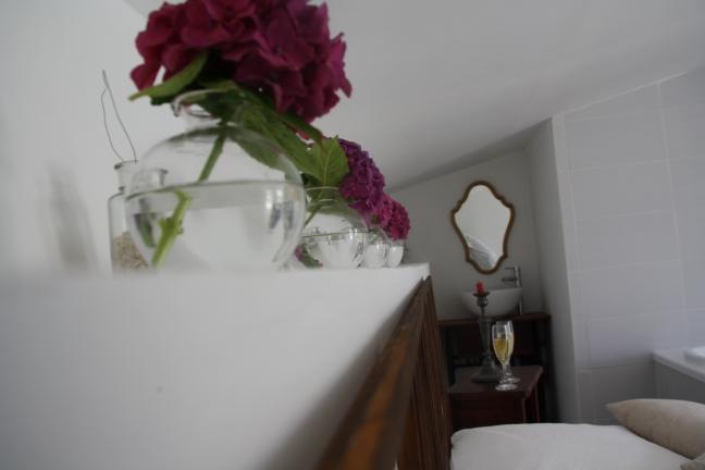 photo fleurs chambre nuptiale