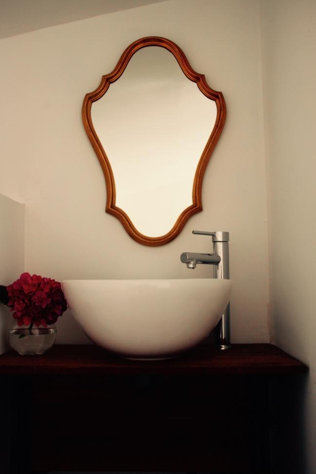Photo miroir d'epoque